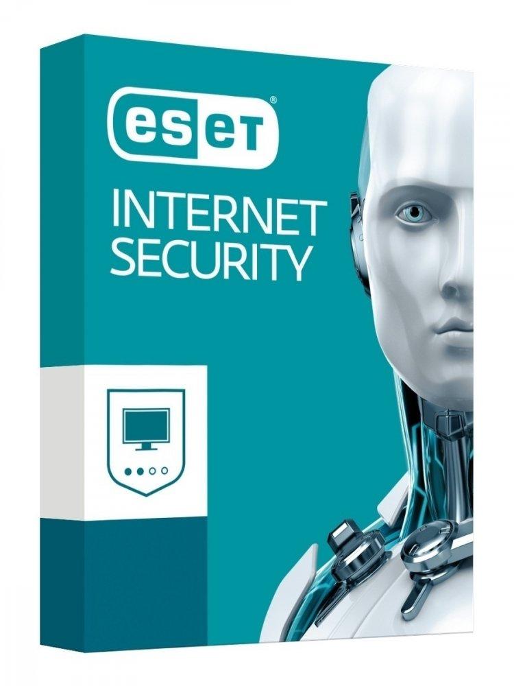 ESET INTERNET SECURITY PRE 2 PC NA 1 ROK - KRABICOVA VERZIA, I-SEC-2PC-1Y-BOX-2020
