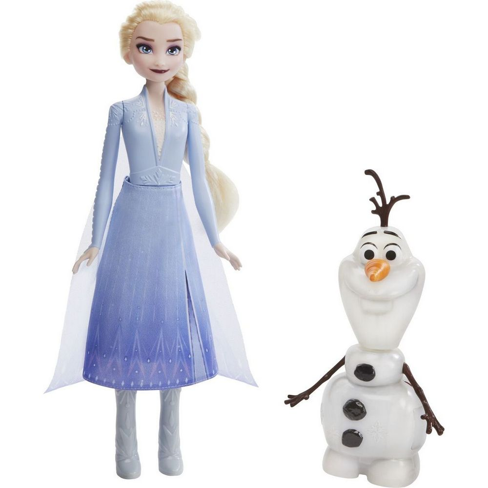 FROZEN 2 TALK AND GLOW OLAF AND ELSA 14E5508