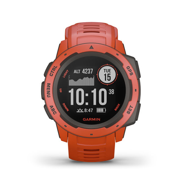 GARMIN INSTINCT FLAME RED 0100206402