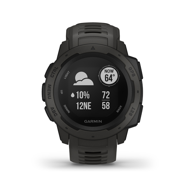 GARMIN INSTINCT GRAPHITE 0100206400