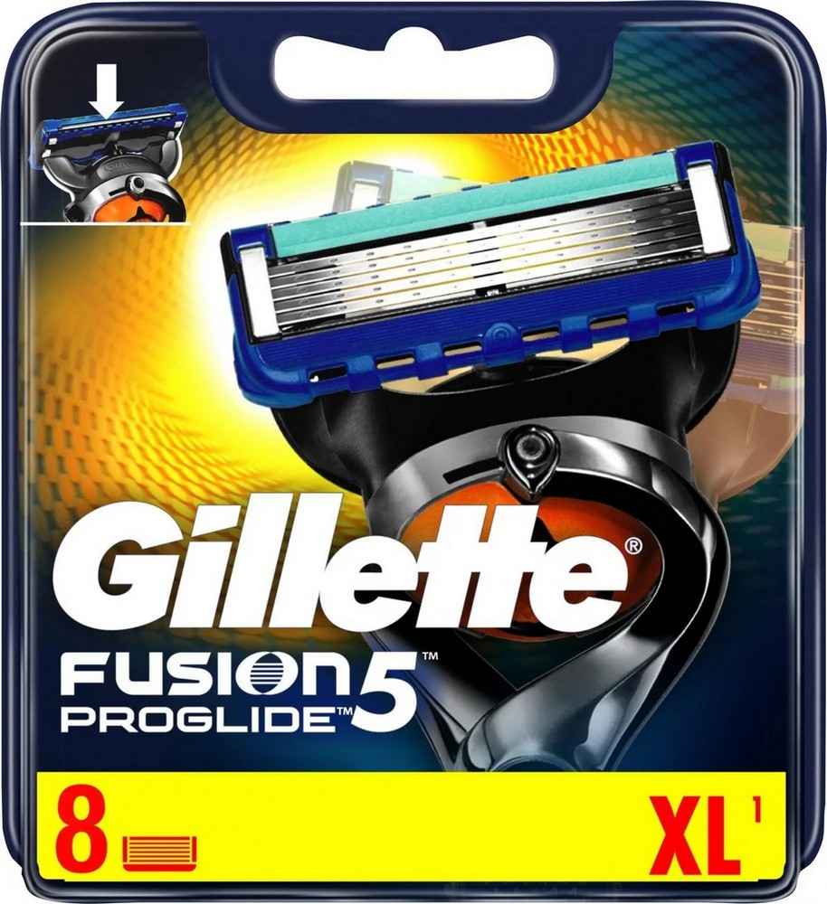 GILLETTE FUSION PROGLIDE HL.8KS