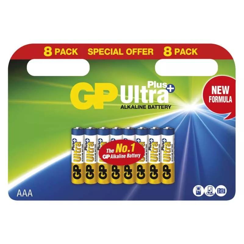 GP ALKALICKA BATERIA ULTRA PLUS AAA (LR03) 8BL
