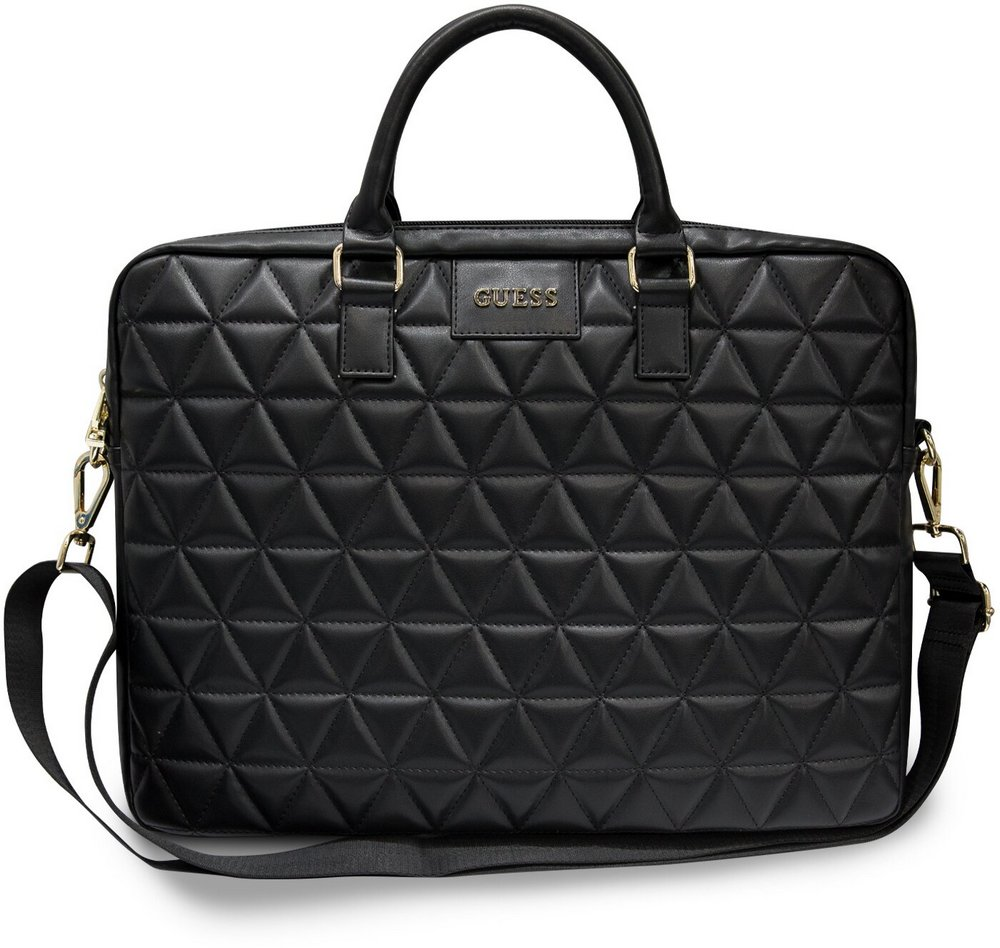 """GUESS GUCB15QLBK GUESS QUILTED OBAL PRO NOTEBOOK 15"""" BLACK"""