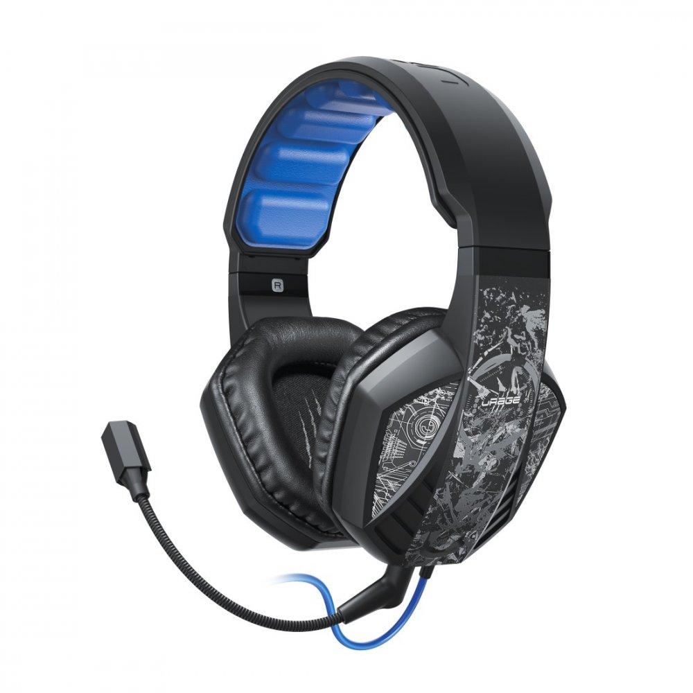 HAMA 186023 URAGE SOUNDZ 310 USB GAMINGOVY HEADSET, CIERNY
