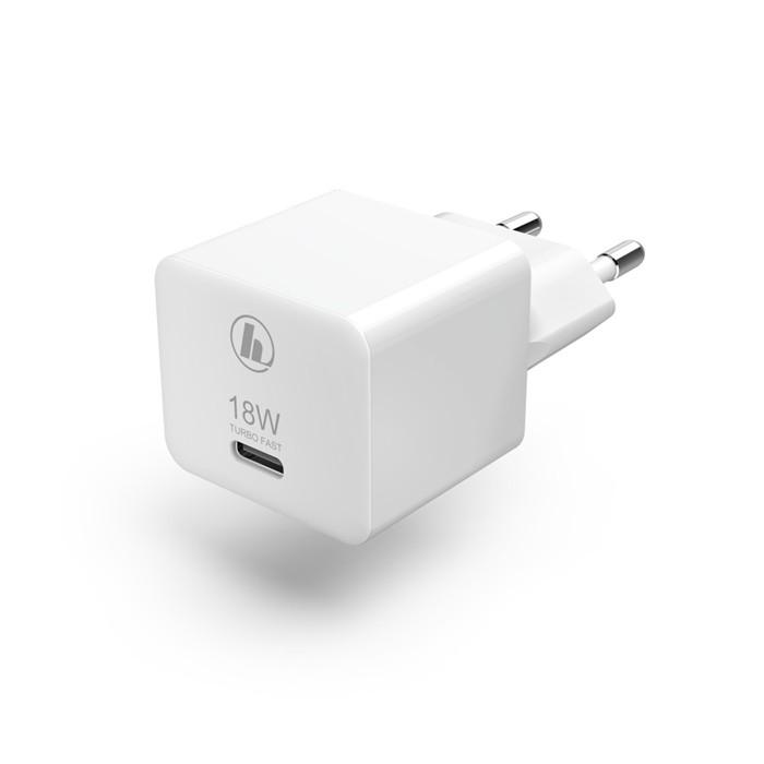 HAMA 188350 RYCHLA USB NABIJACKA, USB-C, QC 3.0/ PD,18W
