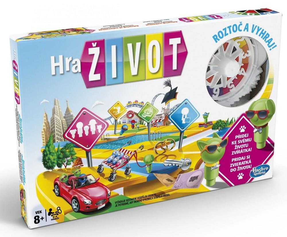HASBRO SPOLECENSKA HRA HRA ZIVOT CZSK VERZE /14E4304/