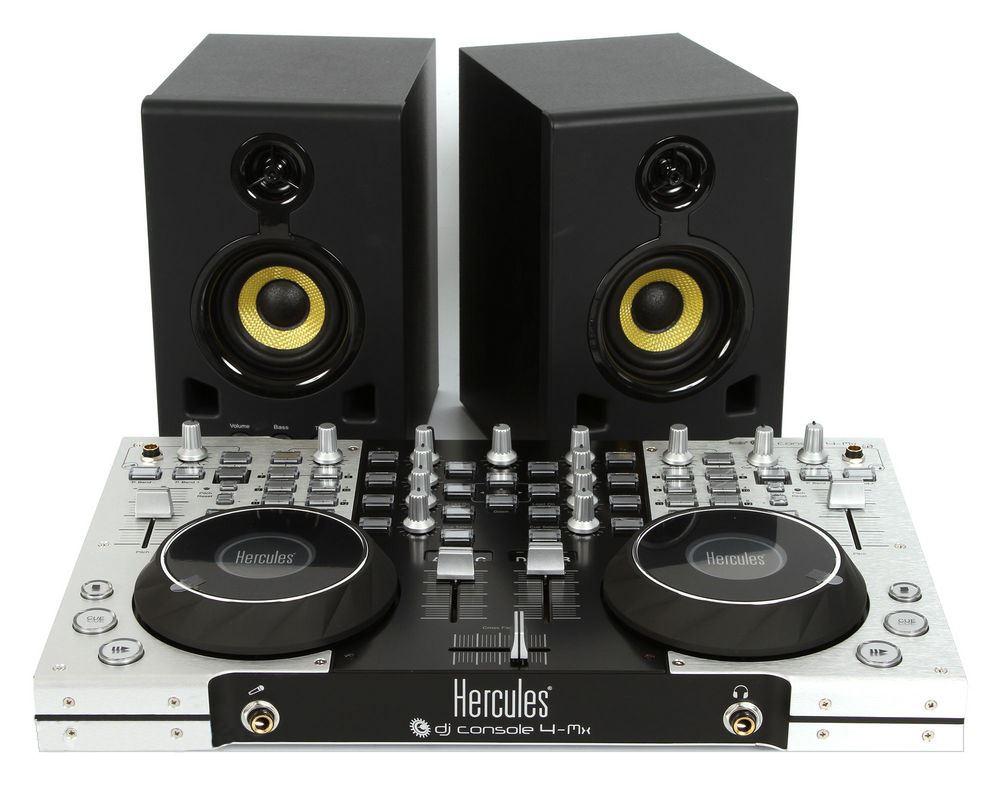 HERCULES XPS 2.0 60 DJ SET, SADA AKTIVNYCH DJ REPRODUKTOROV (4780691)
