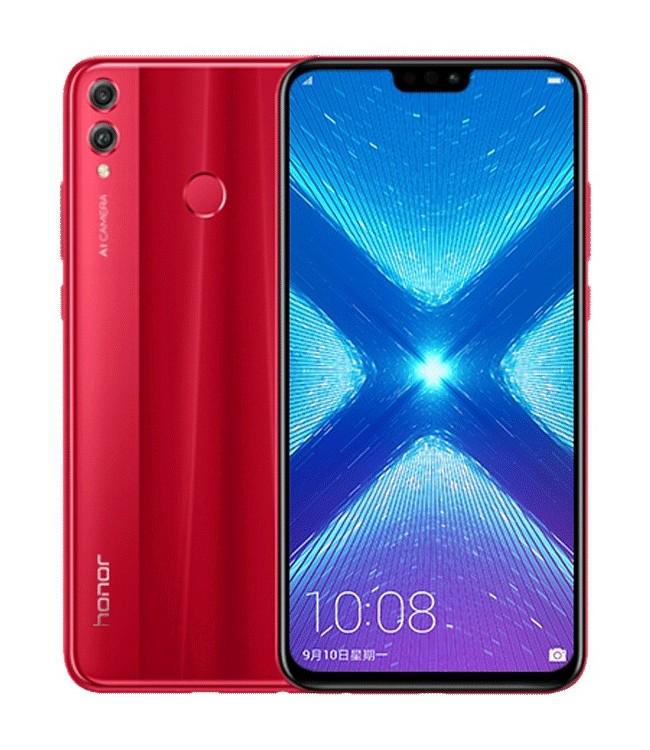 HONOR 8X 4GB/64GB DUAL SIM RED vystavený kus