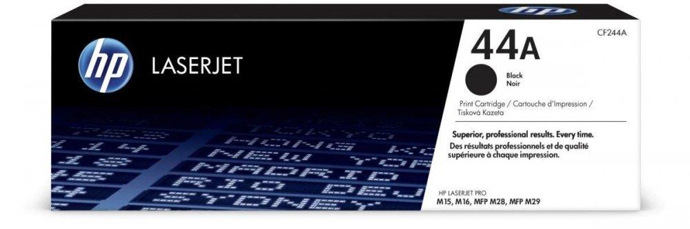 HP 44A ORIGINAL TONER LASERJET CF244A, BLACK, 1000 STRAN
