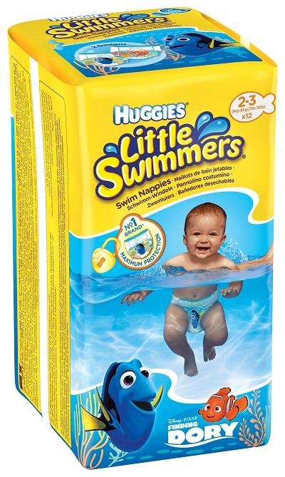 HUGGIES LITTLE SWIMMERS 2/3 (12)