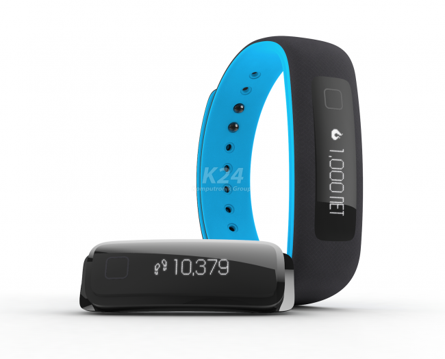 IFIT VUE FITNESS ACTIVITY TRACKER WEARABLE (BLACK BLUE  SM AND LXL)