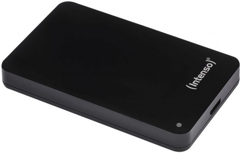 """INTENSO 4TB MEMORYCASE 2,5"""", USB 3.0, EXTERNY CIERNY 6021512"""