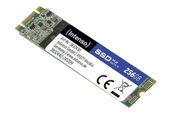 INTENSO SSD TOP 256GB/M.2 2280/M.2 SATA 3832440