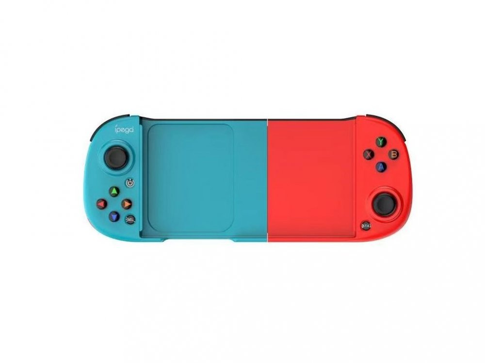 IPEGA 9217B WIRELESS CONTROLLER PRE ANDROID/PS3/N-SWITCH/WINDOWS PC CYAN/RED
