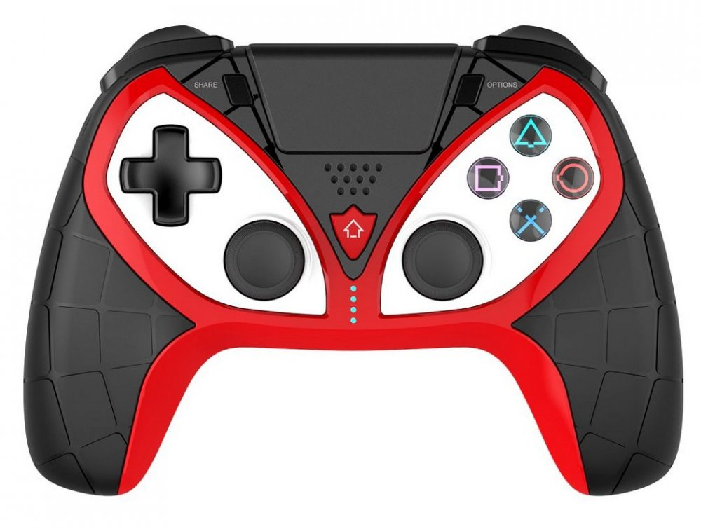 IPEGA P4012A WIRELESS CONTROLLER PRE PS3/PS4 (IOS, ANDROID, WINDOWS) BLACK/RED