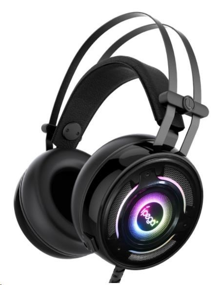 IPEGA PG-R008 RGB GAMING HEADSET S MIKROFONOM BLACK