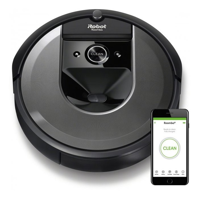 I ROBOT ROOMBA I7 LIGHT SILVER