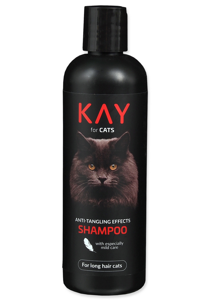 KAY FOR CAT SAMPON PROTI ZACUCHANIU A PLSTNATENIU (250ML)