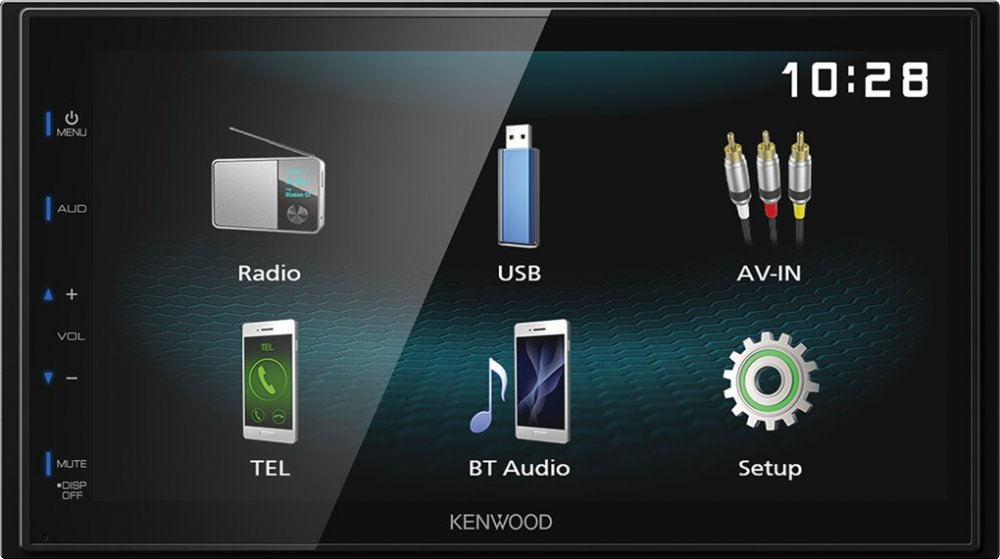 KENWOOD DMX120BT