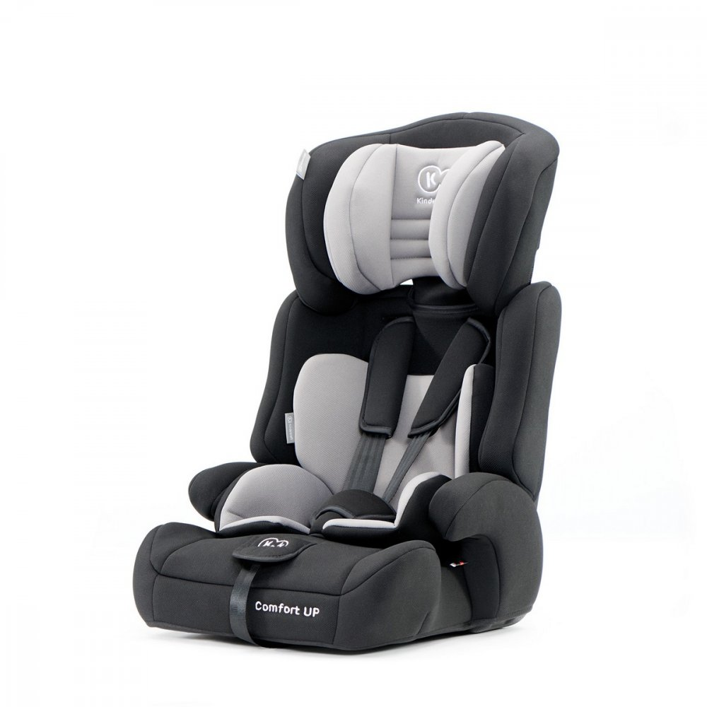 KINDERKRAFT AUTOSEDACKA COMFORT UP BLACK 936KG 2019