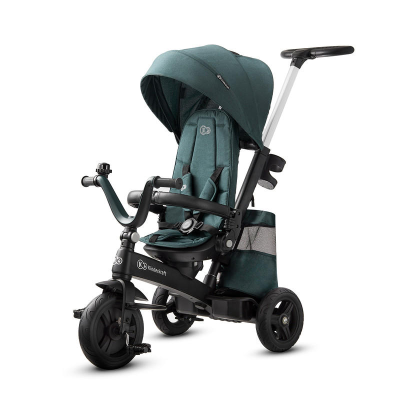 KINDERKRAFT TROJKOLKA EASYTWIST MIDNIGHT GREEN