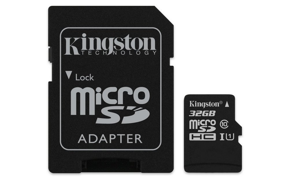 KINGSTON MICROSDHC 32GB A1 CL10 100MB/S
