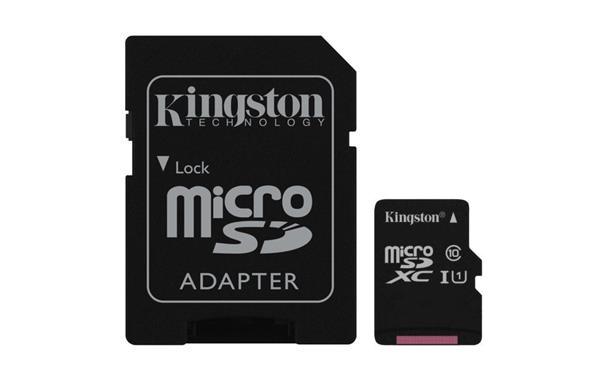 KINGSTON MICRO SDXC 256GB UHS-I U1 45R/10W SDC10G2/256GB