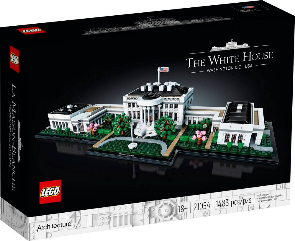 LEGO ARCHITECTURE BIELY DOM 21054