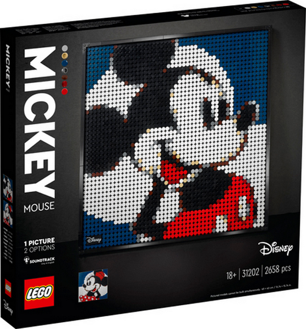 LEGO ART DISNEYS MICKEY MOUSE 31202