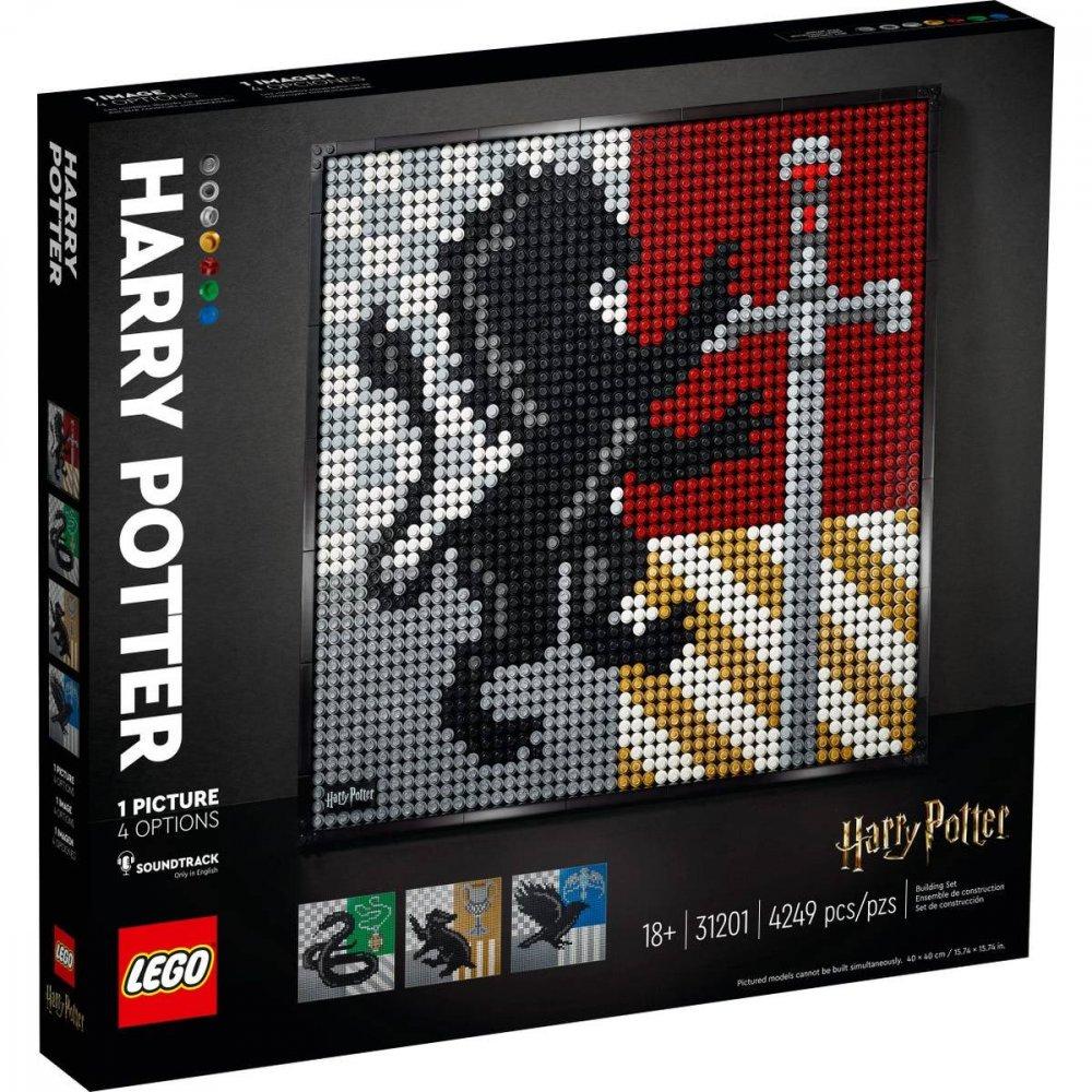 LEGO ART HARRY POTTER HOGWARTS CRESTS /31201/