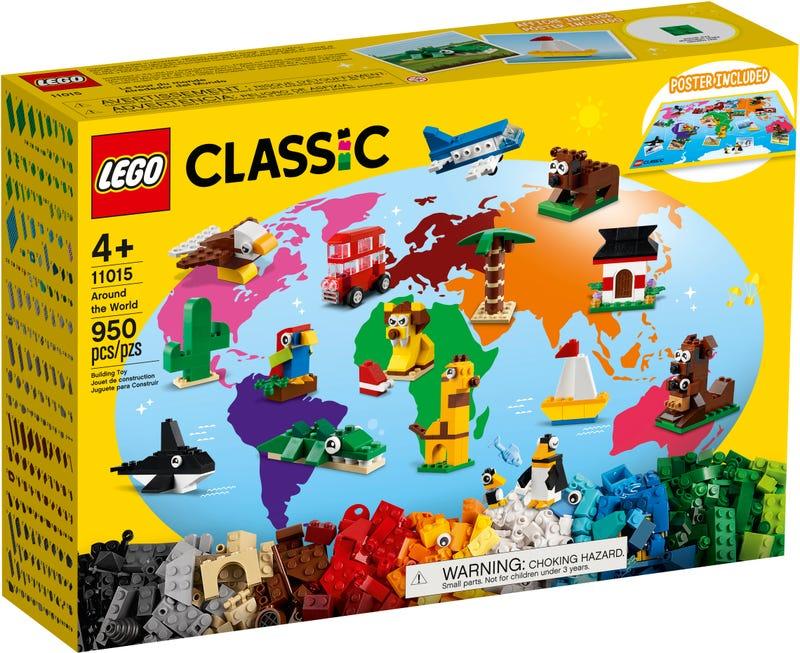 LEGO CLASSIC CESTA OKOLO SVETA /11015/