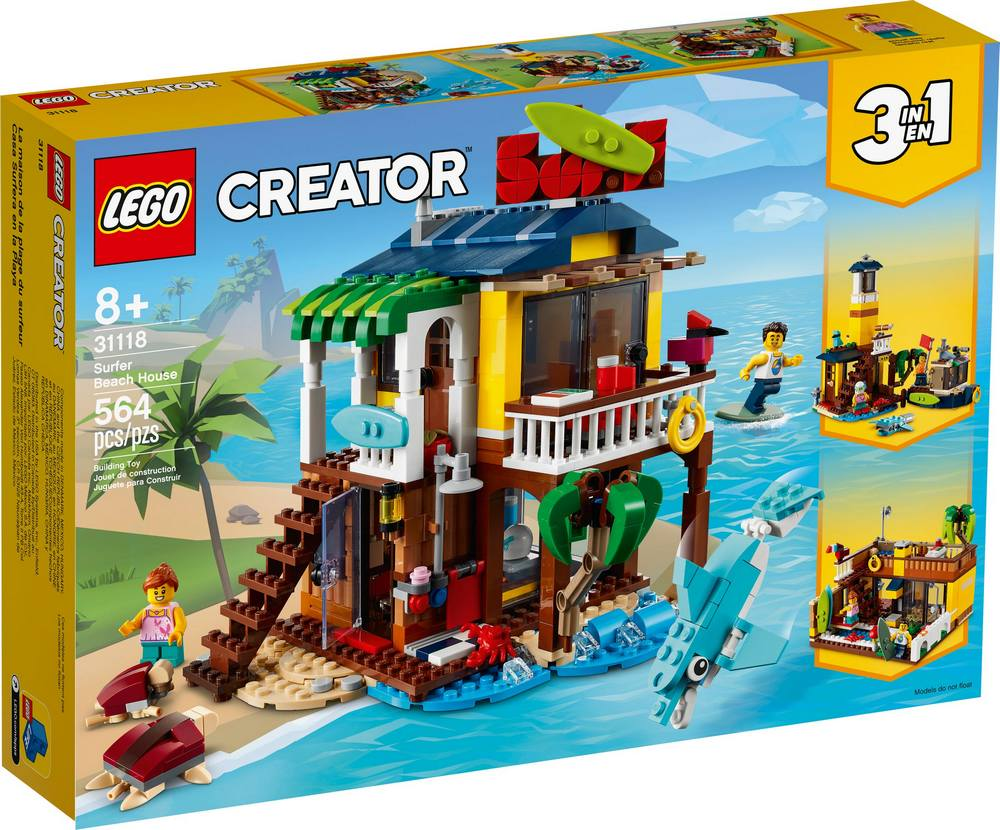 LEGO CREATOR SURFERSKY PLAZOVY DOMCEK /31118/
