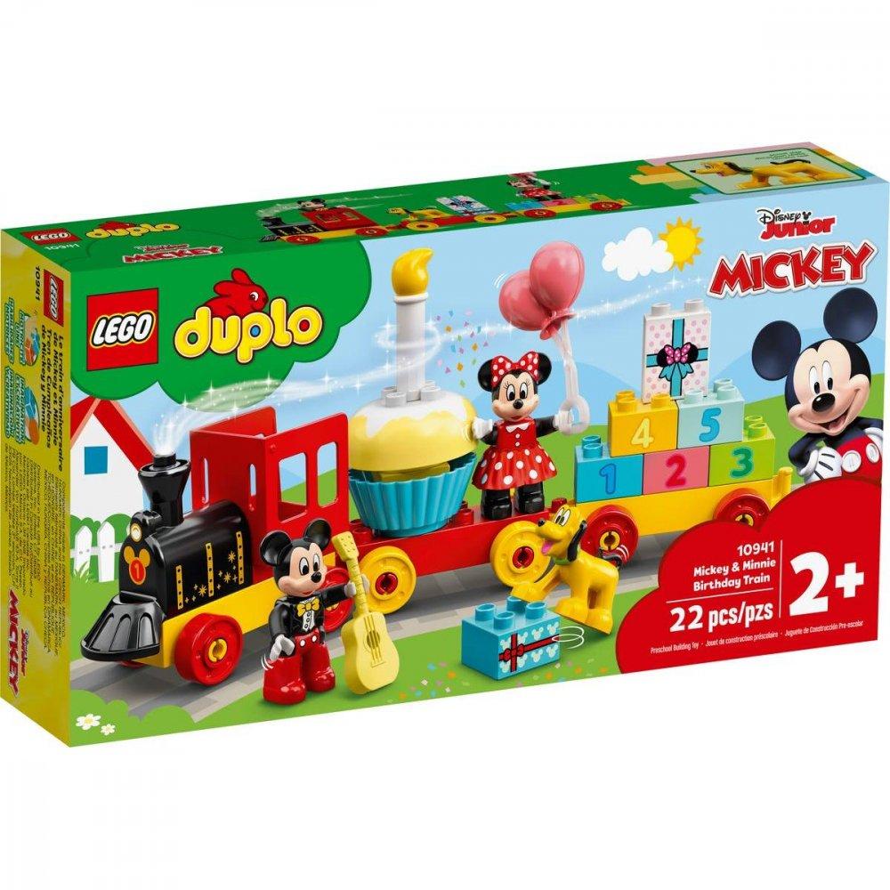 LEGO DUPLO DISNEY NARODENINOVY VLACIK MICKEYHO A MINNIE /10941/