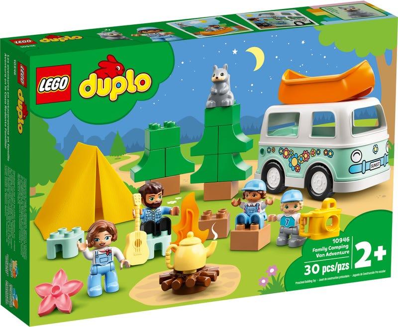 LEGO DUPLO TOWN DOBRODRUZSTVO V RODINNOM KARAVANE /10946/