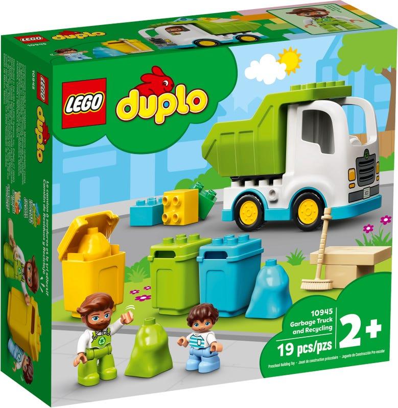LEGO DUPLO TOWN SMETIARSKE AUTO A RECYKLOVANIE /10945/