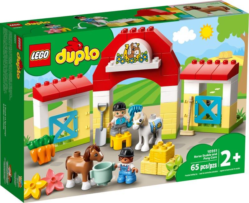 LEGO DUPLO TOWN STAJNA S PONIKMI /10951/