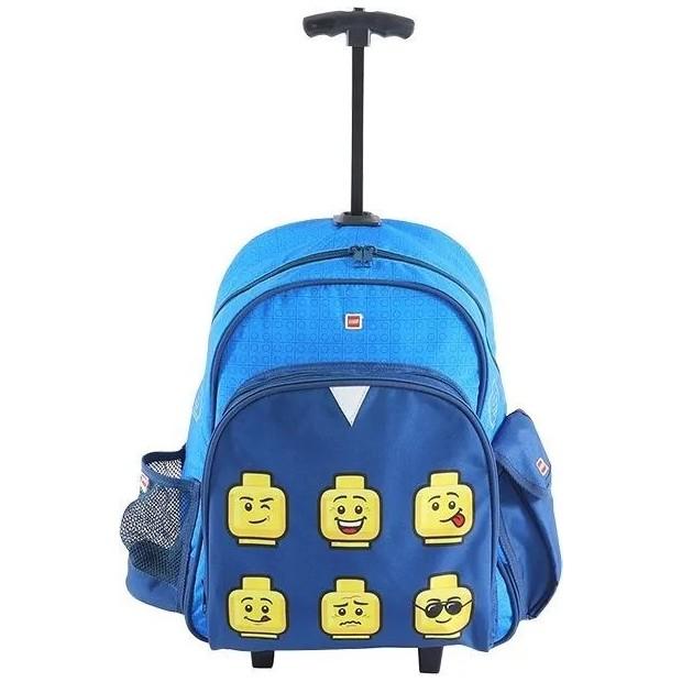 LEGO FACES BLUE TROLLEY BATOH /10081-2006/