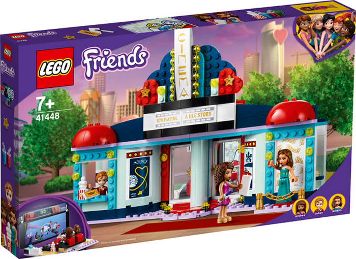 LEGO FRIENDS KINO V MESTECKU HEARTLAKE 41448