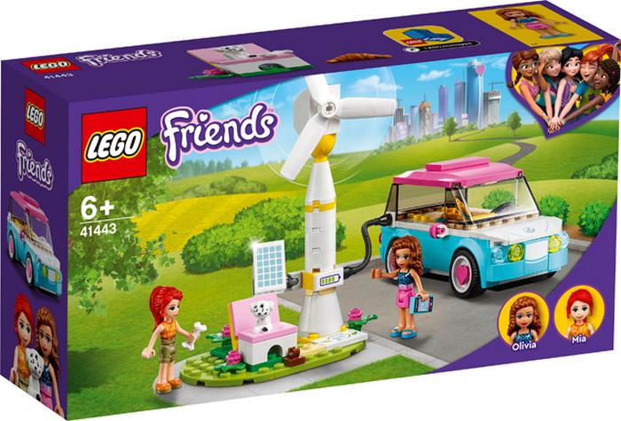 LEGO FRIENDS OLIVIA A JEJ ELEKTROMOBIL /41443/