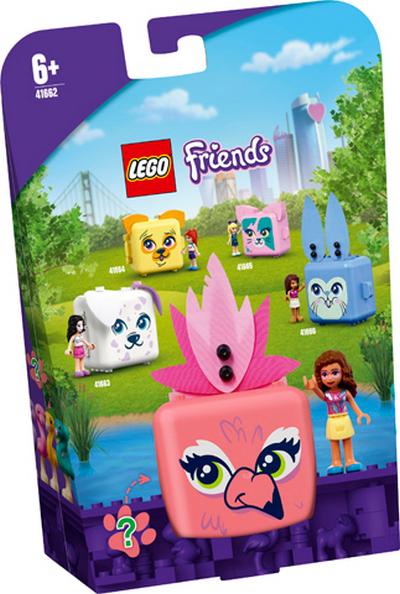 LEGO FRIENDS OLIVIA A JEJ PLAMENIAKOVY BOXIK /41662/