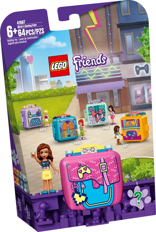 LEGO FRIENDS OLIVIIN HERNY BOXIK /41667/