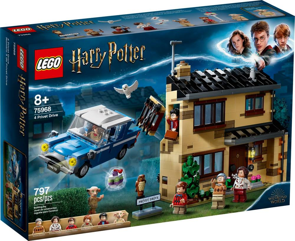 LEGO HARRY POTTER TM PRIVATNA CESTA 4 75968