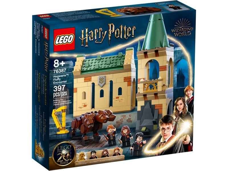 LEGO HARRY POTTER TM ROKFORT STRETNUTIE S CHLPACIKOM /76387/