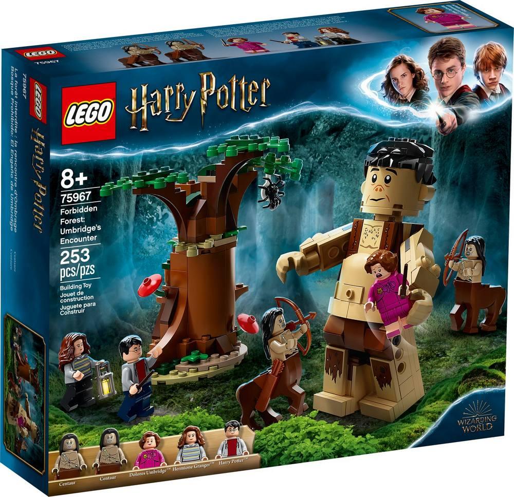 LEGO HARRY POTTER TM ZAKAZANY LES: STRETNUTIE GRAWPA S PROFESORKOU UMBRIDGEOVOU /75967/