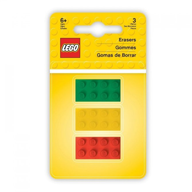 LEGO ICONIC GUMA KOCKY, 2X4, 3 KS /51158/