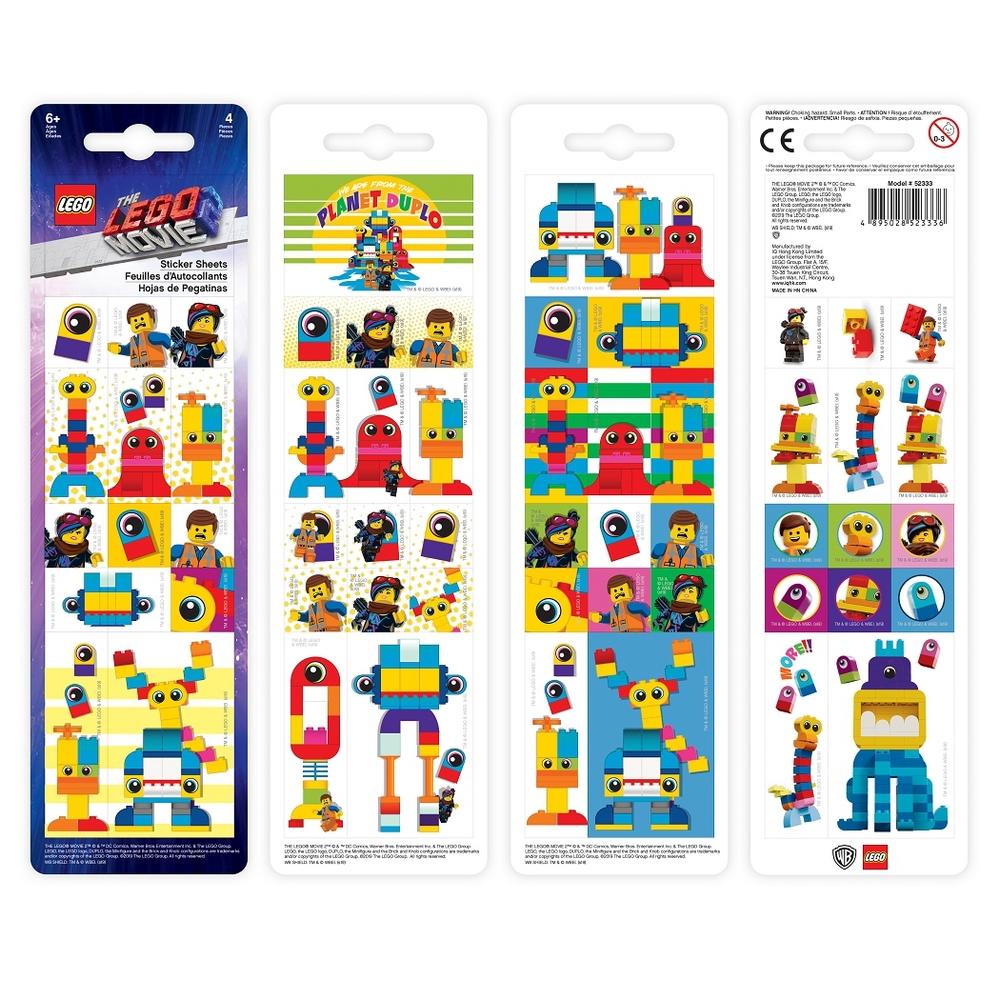 LEGO MOVIE 2 NALEPKY DUPLO, 96KS /52333/