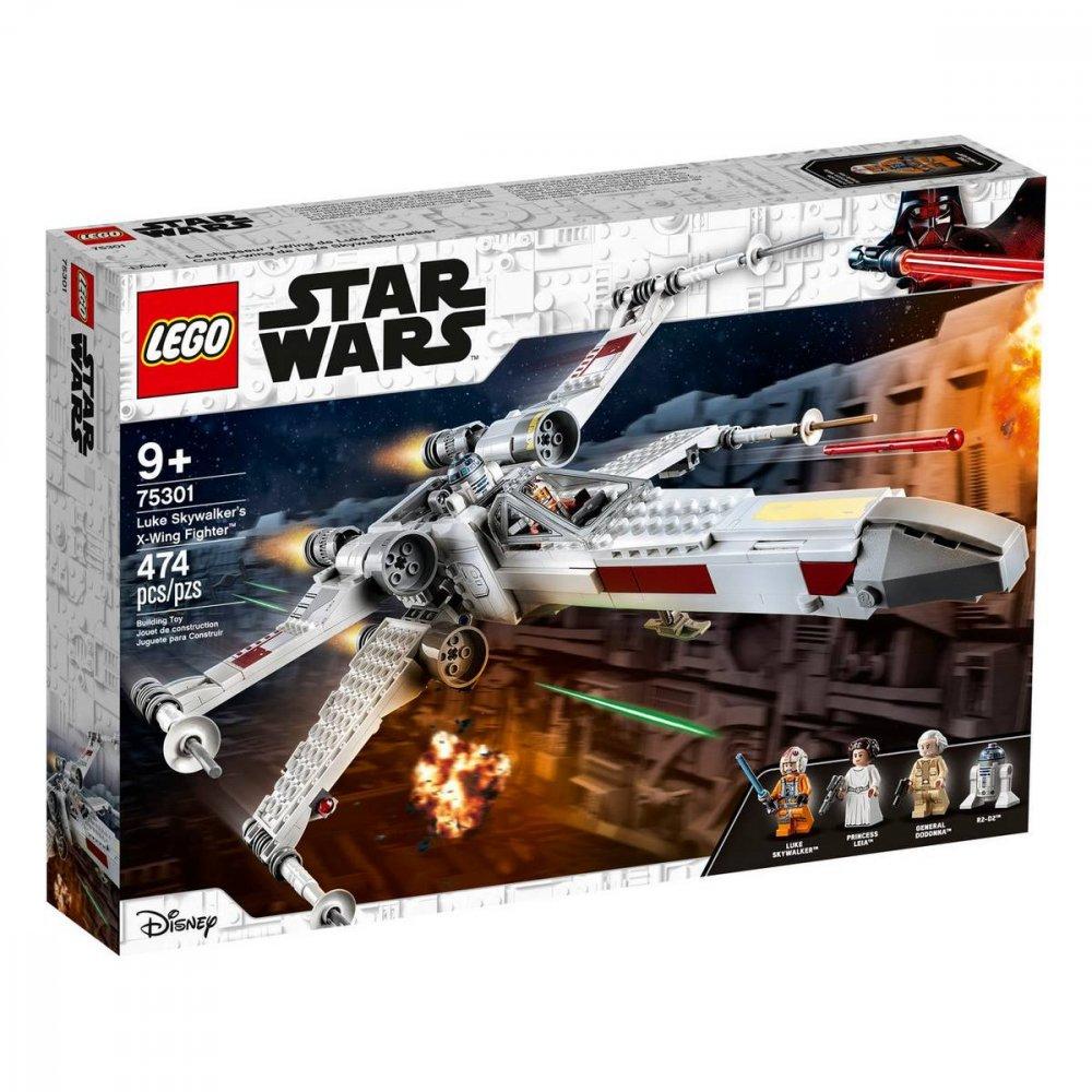 LEGO STAR WARS STIHACKA X-WING LUKA SKYWALKERA /75301/