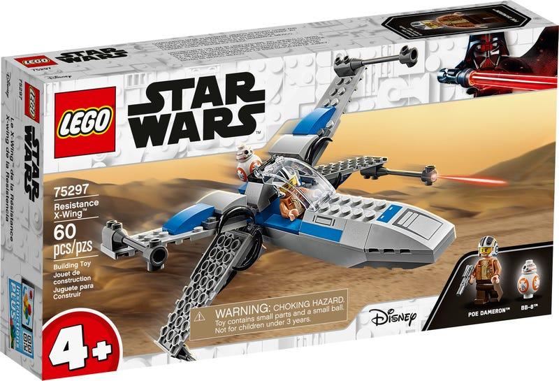 LEGO STAR WARS STIHACKA X-WING ODPOR/75297/