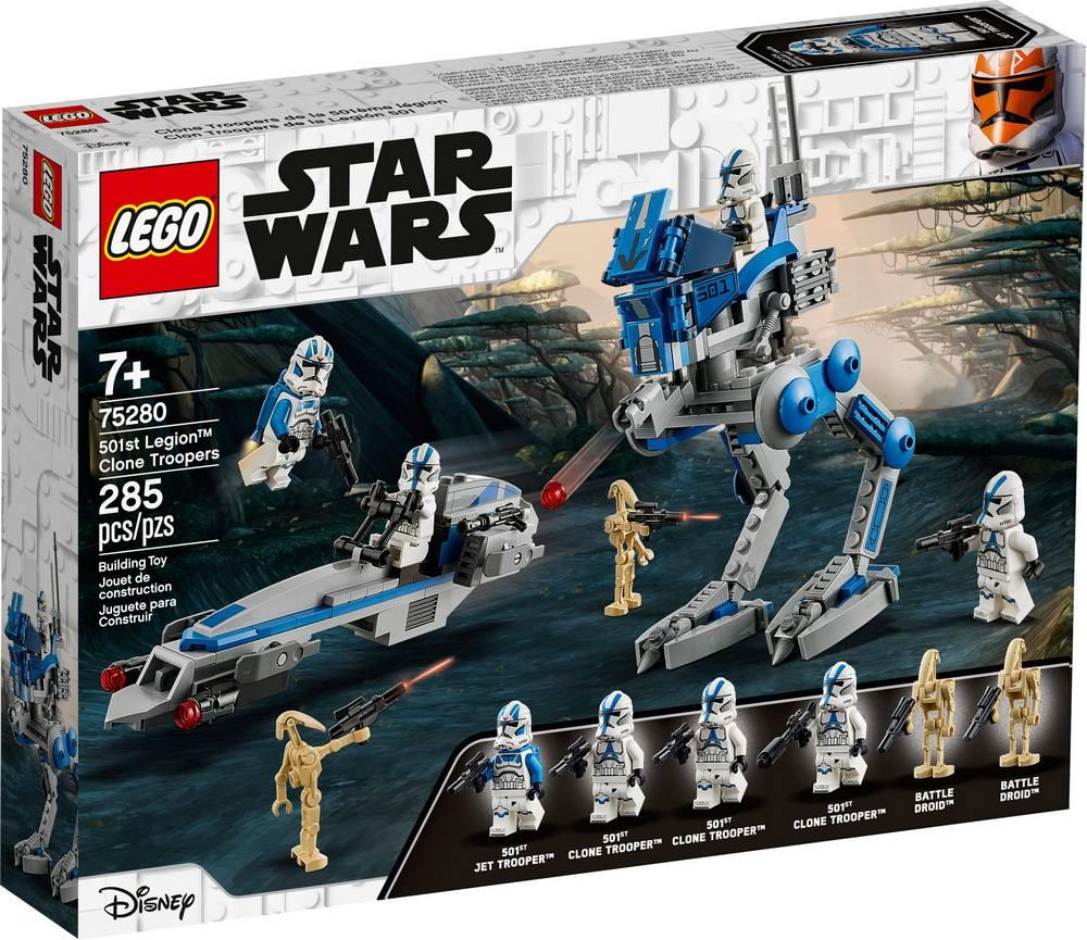 LEGO STAR WARS TM KLONOVI VOJACI Z 501. LEGIE /75280/