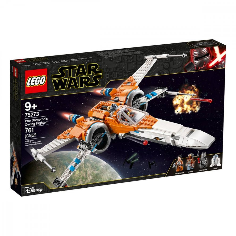 LEGO STAR WARS TM STIHACKA X-WING POEA DAMERONA /75273/